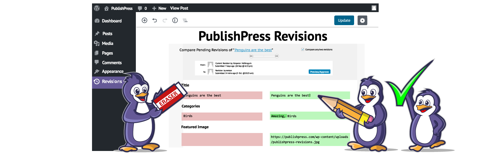 PublishPress Revisions