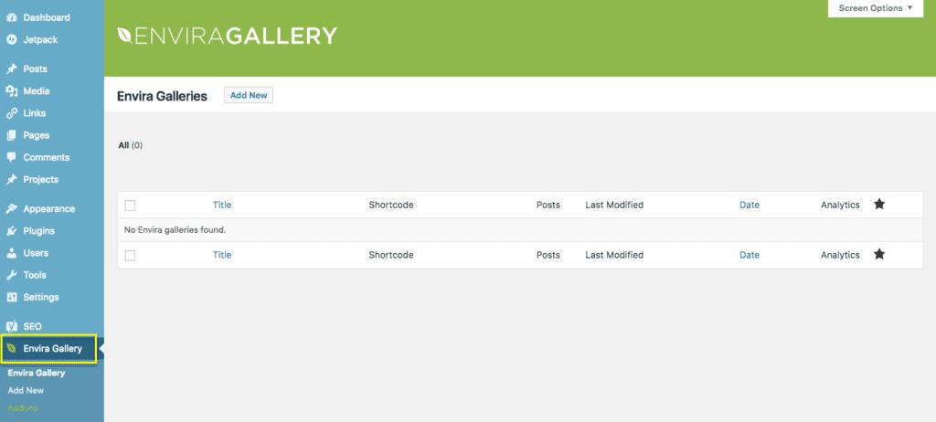 Open Gallery Plugin