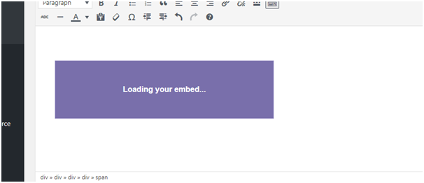 Loading Your Embed