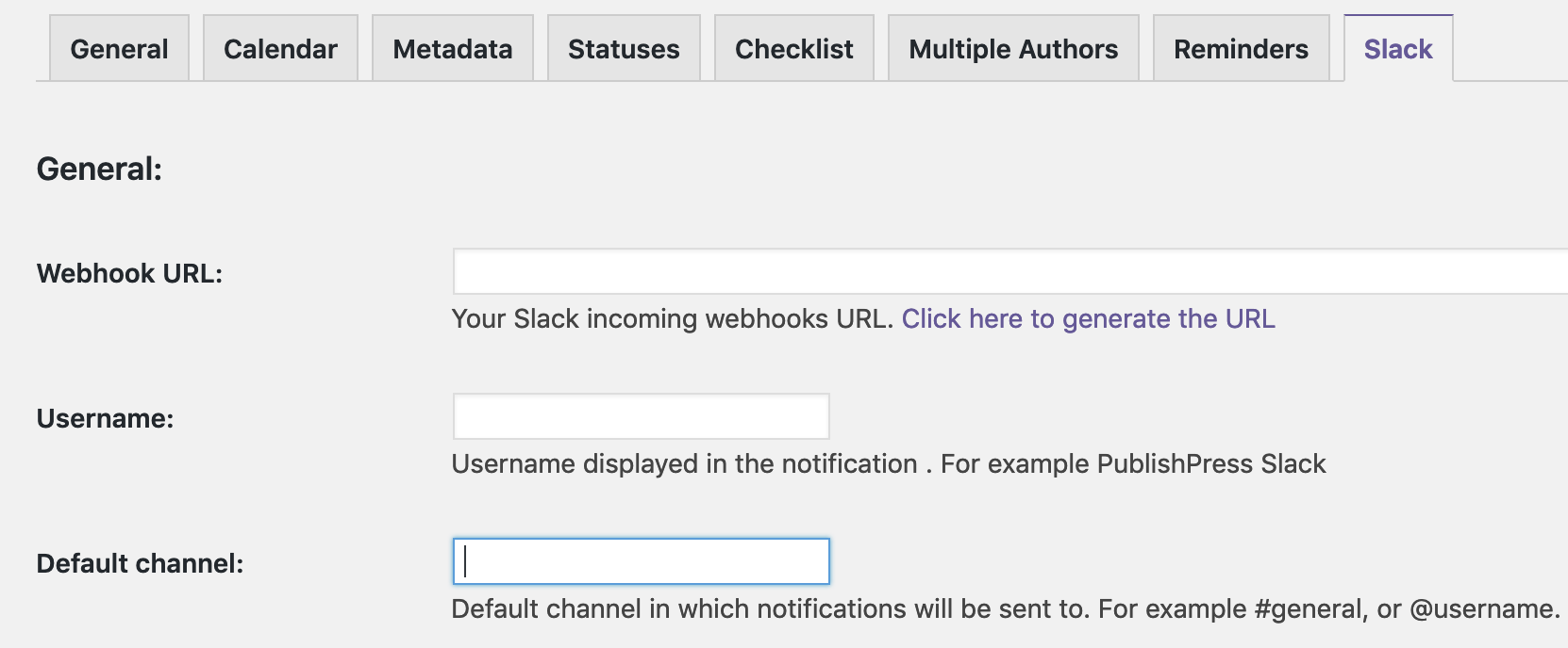 How to Install and Configure the Slack Add-on - PublishPress