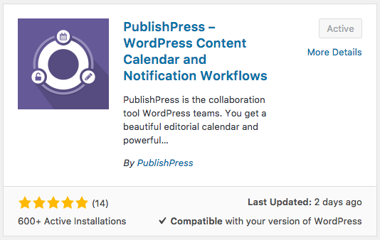 PublishPress plugin - useful for the WooCommerce Product Launch Checklist