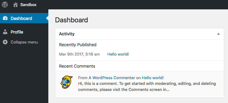 User with no Edit Posts permission in WordPress