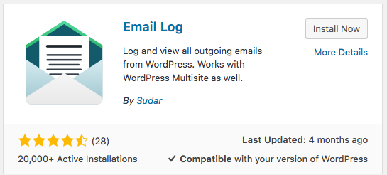 The Email login plugin in WordPress