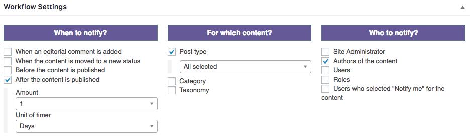 Creating a PublishPress social notification