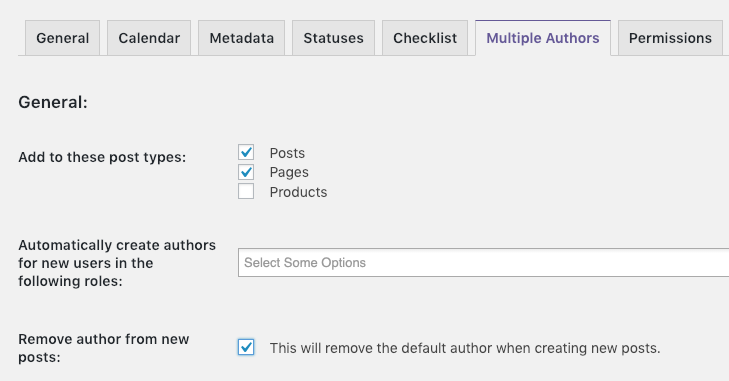 No Author on WordPress posts