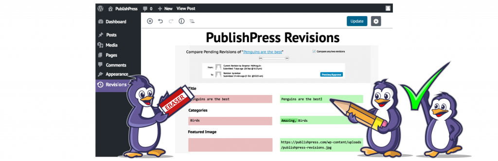 The Revisionary plugin for WordPress