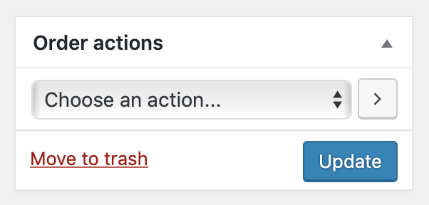 Choosing a role to add permissions to WooCommerce orders