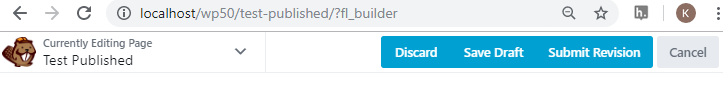 Beaver Builder front end submission