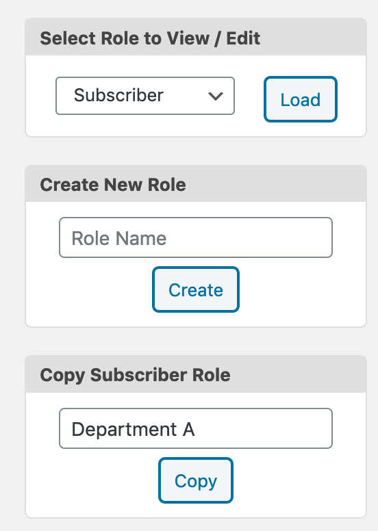 Creating new WordPress roles