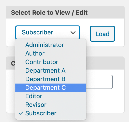 Three new WordPress user roles