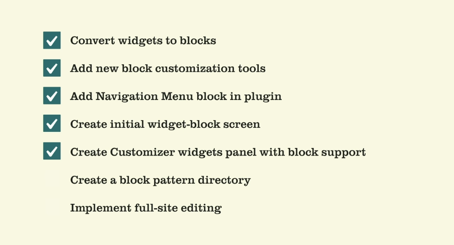 The current state of Gutenberg in November 2019