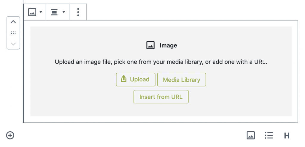 Upload a GIF to the WordPress Media Library