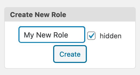 Hidden New Role