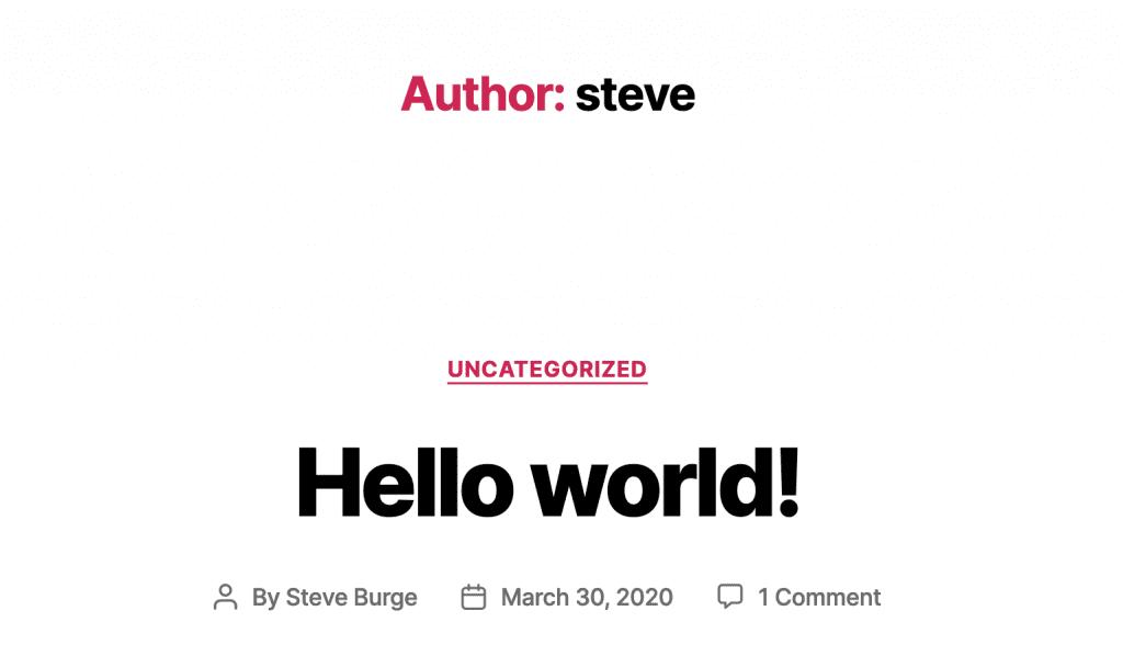 Twenty Twenty Author