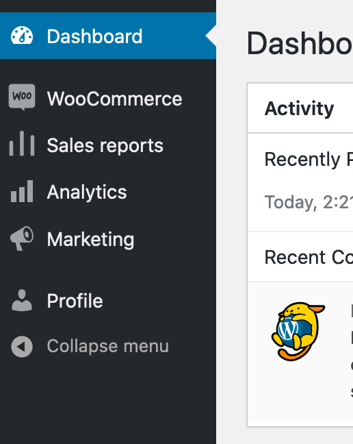 Woocommerce Reports Access