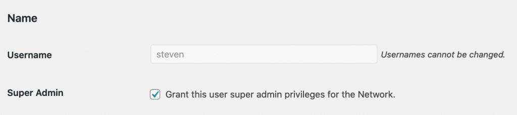 Create Super Admin