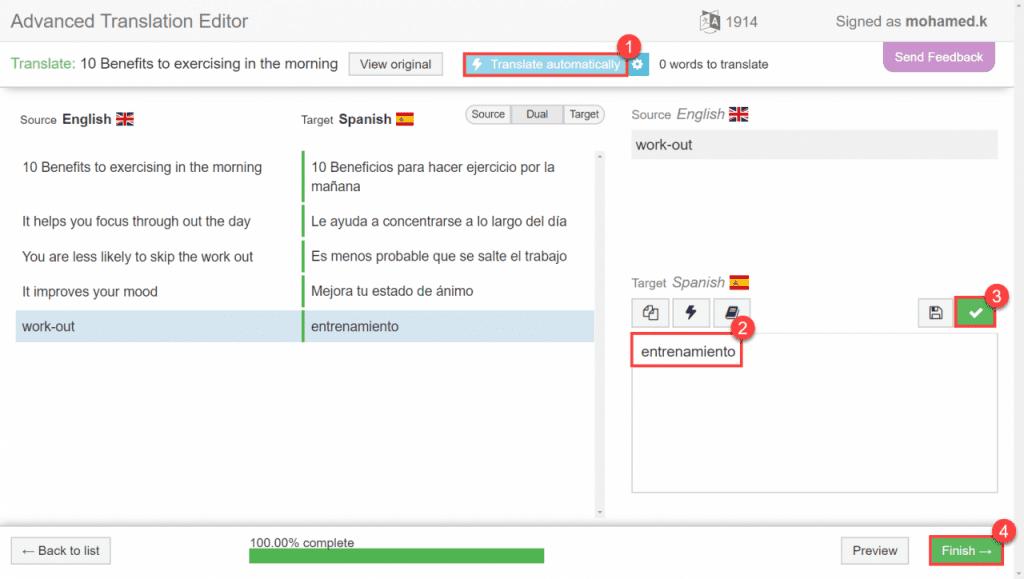 B2ap3 Large 3. Advanced Translation Editor