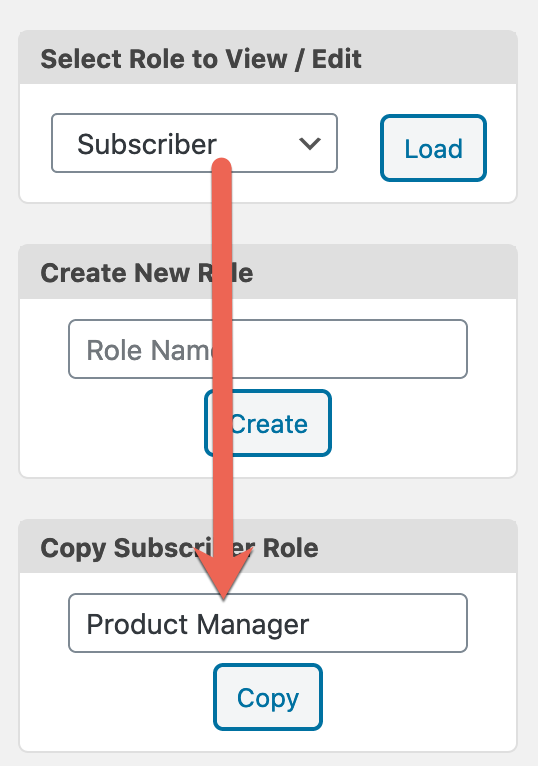 Create Product Manager