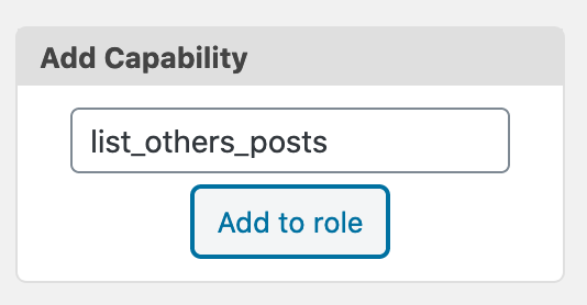 List Others Posts