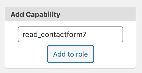 Add Capability
