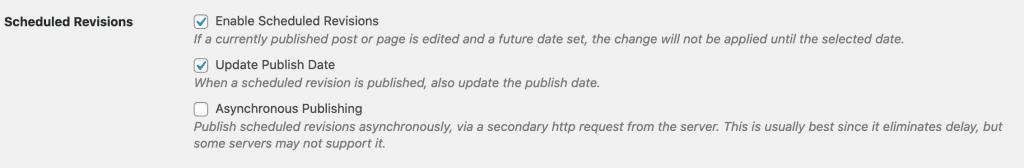 Async Publishing