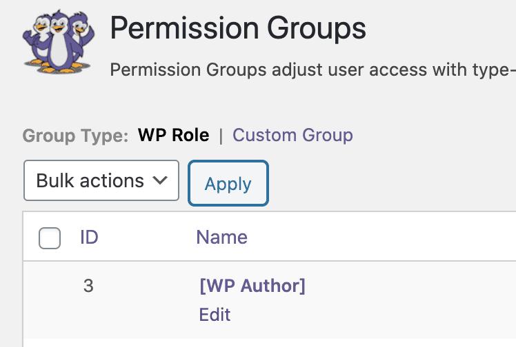 Author Groups