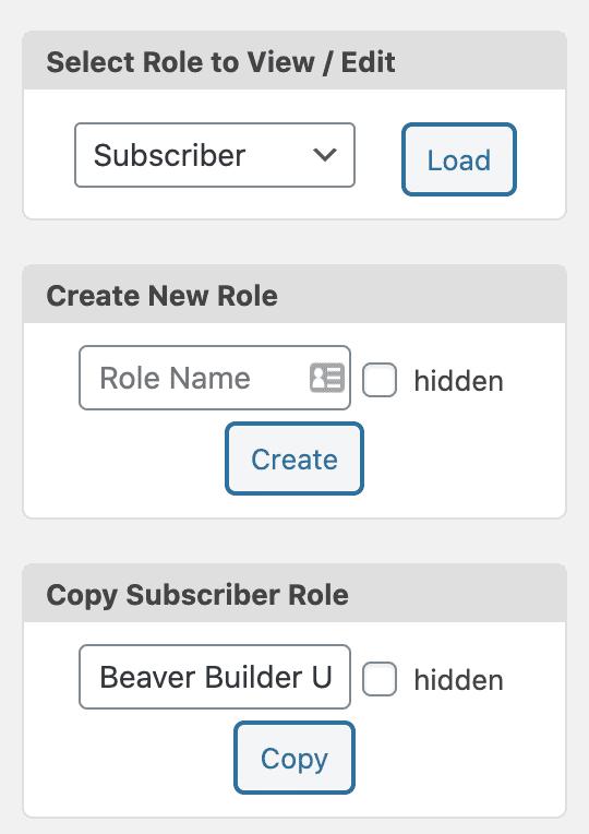 Beaver Builder User