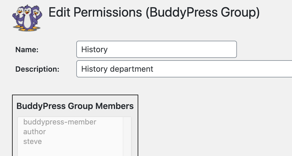 Buddypress Members