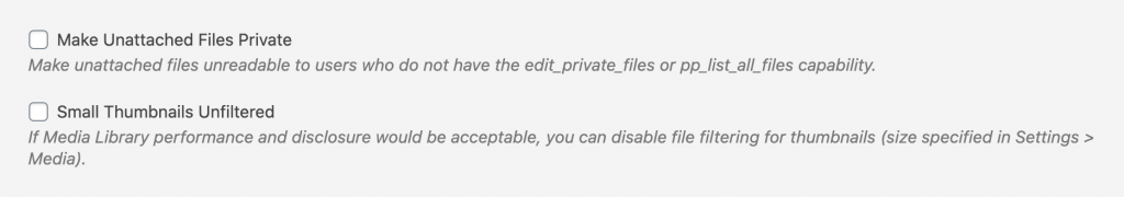 Extra File Permissions