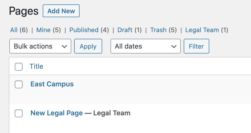 Legal Team Label