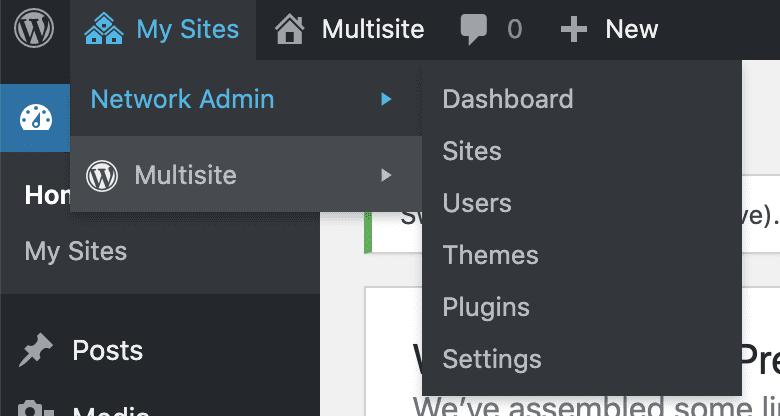 Multi Site Dashboard