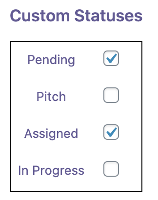 Pending Assigned Editor