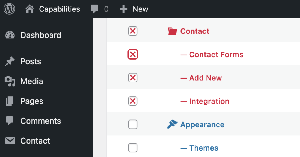 Editor Contact Form 7