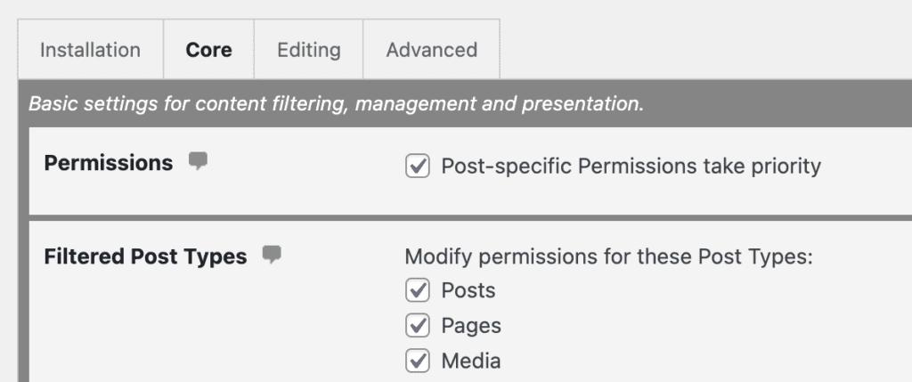 Media Permissions