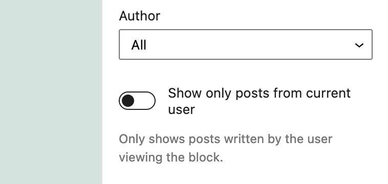 Current User