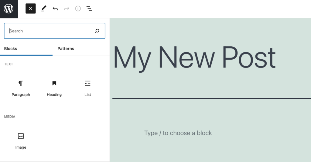 Author Blocks