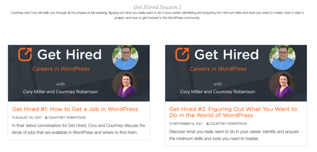 Get Hired Overview